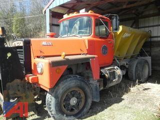 1983 Mack R487P Truck w/ Sander