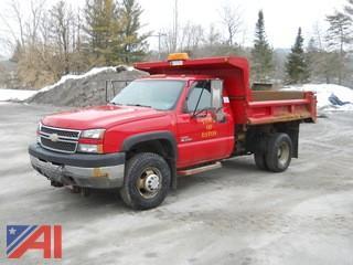 2005 Chevrolet 3500HD Dump Truck