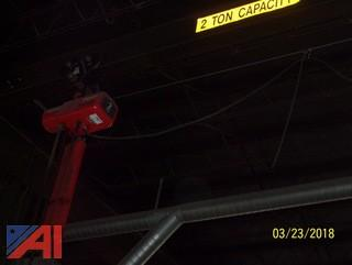 2 Ton Dayton Electric Chain Hoist