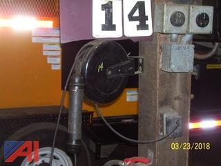 (2) Electric Hose Reels