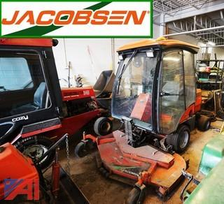 2003 Jacobsen TurfCat 628-D Grounds Mower with Snow Blower Attachment