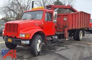 2001 International 4700 Brush/Dump Truck