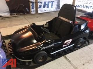 JJ Amusements Commercial 2 Seat Go Kart