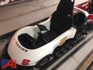 JJ Amusements Commercial Single Seat Go Kart