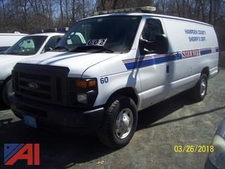 2009 Ford E350 Van/Sheriff Vehicle