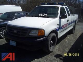 2004 Ford F150 Extended cab Pickup/Sheriff Vehicle