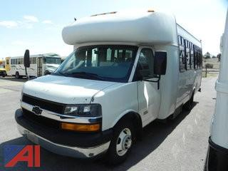 2010 Chevrolet Express Express Bus with Wheel Chair Lift  (#487)