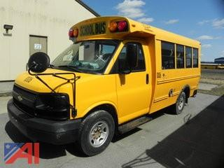 2009 Chevrolet Express Mini Bus (Parts Only) (#1006)