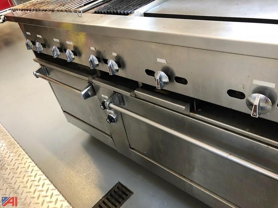Superb Jade Commercial Stove/Oven. U2039u203a