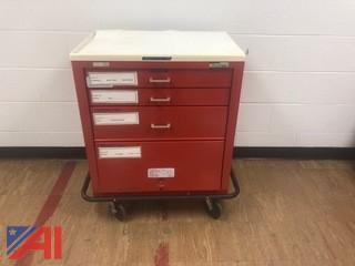(3) Waterloo Medical Crash Carts