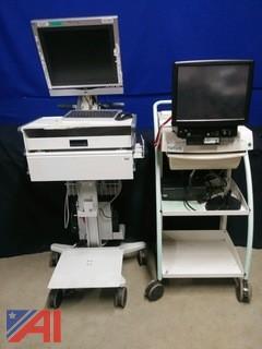 (2) Natus Nurse Workstations