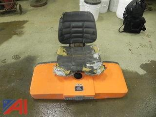 Seat & Hood Parts From Oshkosh Truck