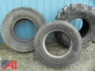 (3) Tires / Various Sizes