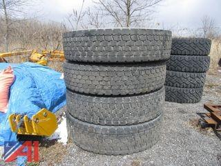 Lot of Used/Takeoff Tires