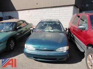 1996 Hyundai Accent Sedan