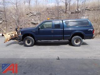 2004 Ford F250 Pickup w/ Plow
