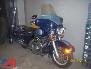 2003 Harley Davidson FLHTPI Motorcycle
