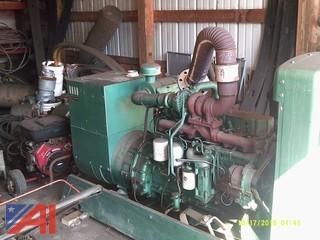 Onan Diesel Powered Generator, 90kw