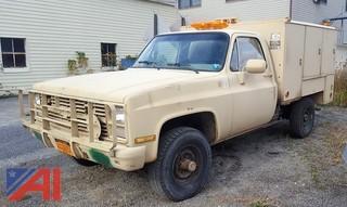 1986 Chevrolet CD30 Military Pickup Truck
