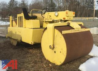 60's Hyster Static Non Vibratory Roller