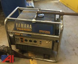 Yamaha YG6500 Standby Generator