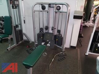 Life Fitness Seated Row Machine (#18)