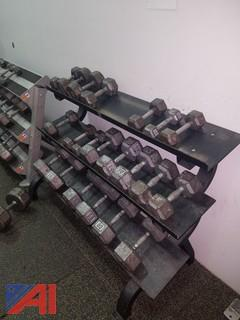 Black Dumbbell Rack (#8)