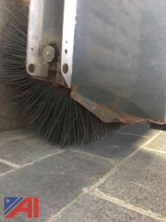 Sweepster Rotary Broom and Blade