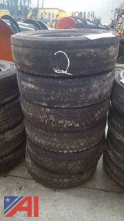 Set of (6) Continental HSR Tires