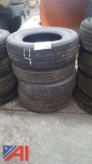 Set of (4) Firestone Transforce HT Tires