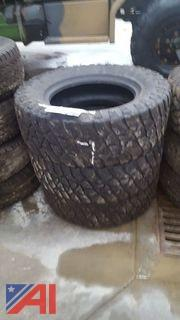 Set of (3) Kelley Safari TSR Tires