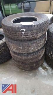 Set of (4) Goodyear Wrangler HT Tires