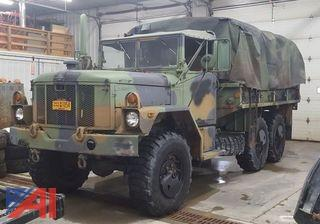 1993 AM/GE Millitary 6x6 Cargo Truck
