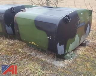 (2) Aluminum Fuel Tanks