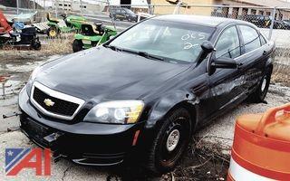 2012 Chevrolet Caprice 4DSD/Police Vehicle