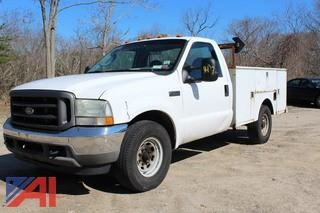 2003 Ford F350 Pickup with Utility Box