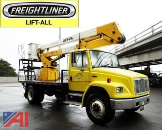 1998 Freightliner FL70 Lift-All LAN 42-2E Bucket Truck