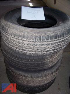 (4) General Grabber Tires