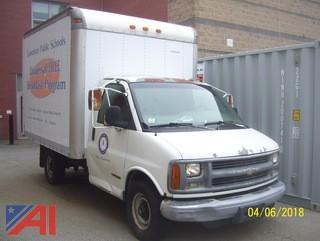 1998 Chevy 3500 Cube Van