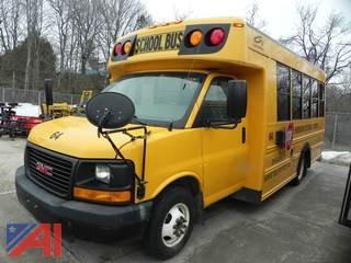 2009 GMC Savava 3500 School Bus