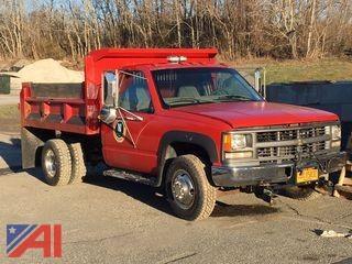 2000 Chevrolet K3500 Dump Truck w/ Plow