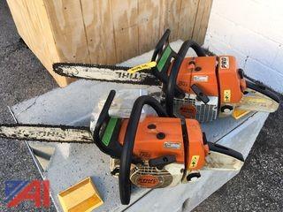 (2) Stihl Chain Saws