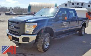 *5% BP* 2015 Ford F250 Super Duty Pickup Truck & Plow