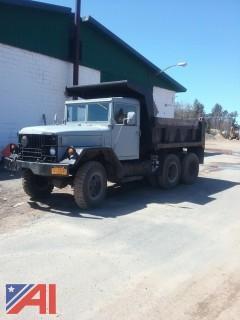 1966 Kaiser 2 1/2 Ton 6x6 Dump Truck