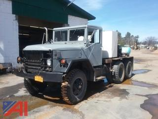 1966 Kaiser Jeep 2 1/2 Ton 6x6 Pipe Cleaning Truck