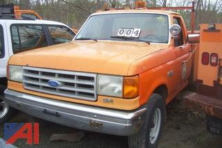1991 Ford F350 Utility Truck