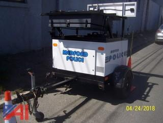 1998 Precision Solar Radar Trailer