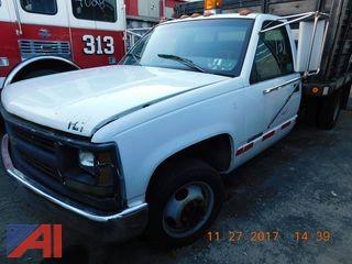 1996 Chevrolet 3500 Rack/Dump Truck
