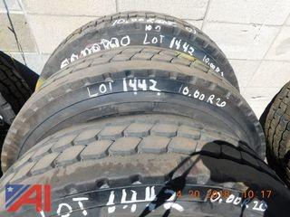(3) Used Tires
