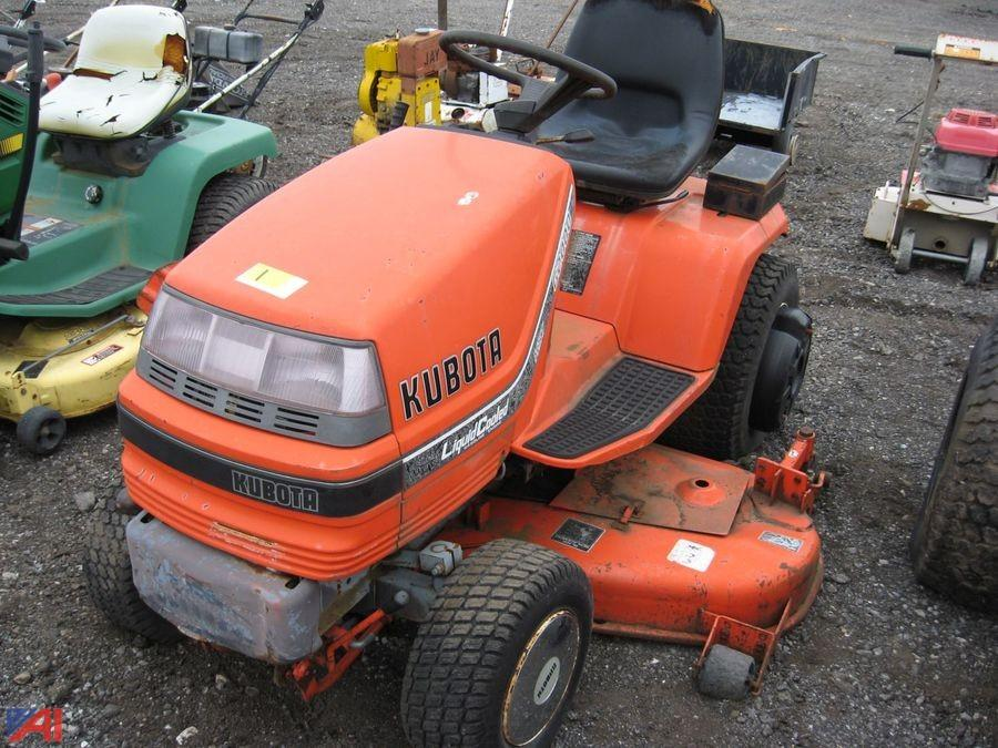Auctions International Auction Business Liquidation Ny 13999 Item Kubota Lawn Tractor
